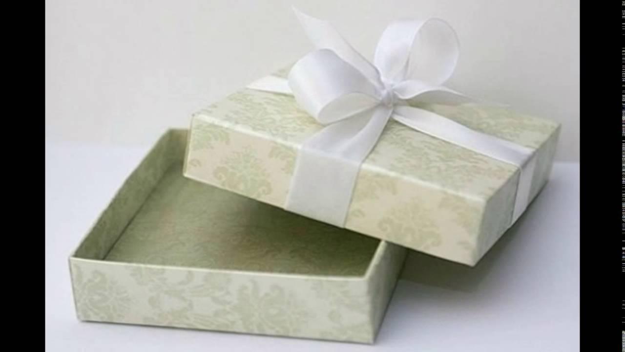 Как сделать коробки для подарков своими руками 11