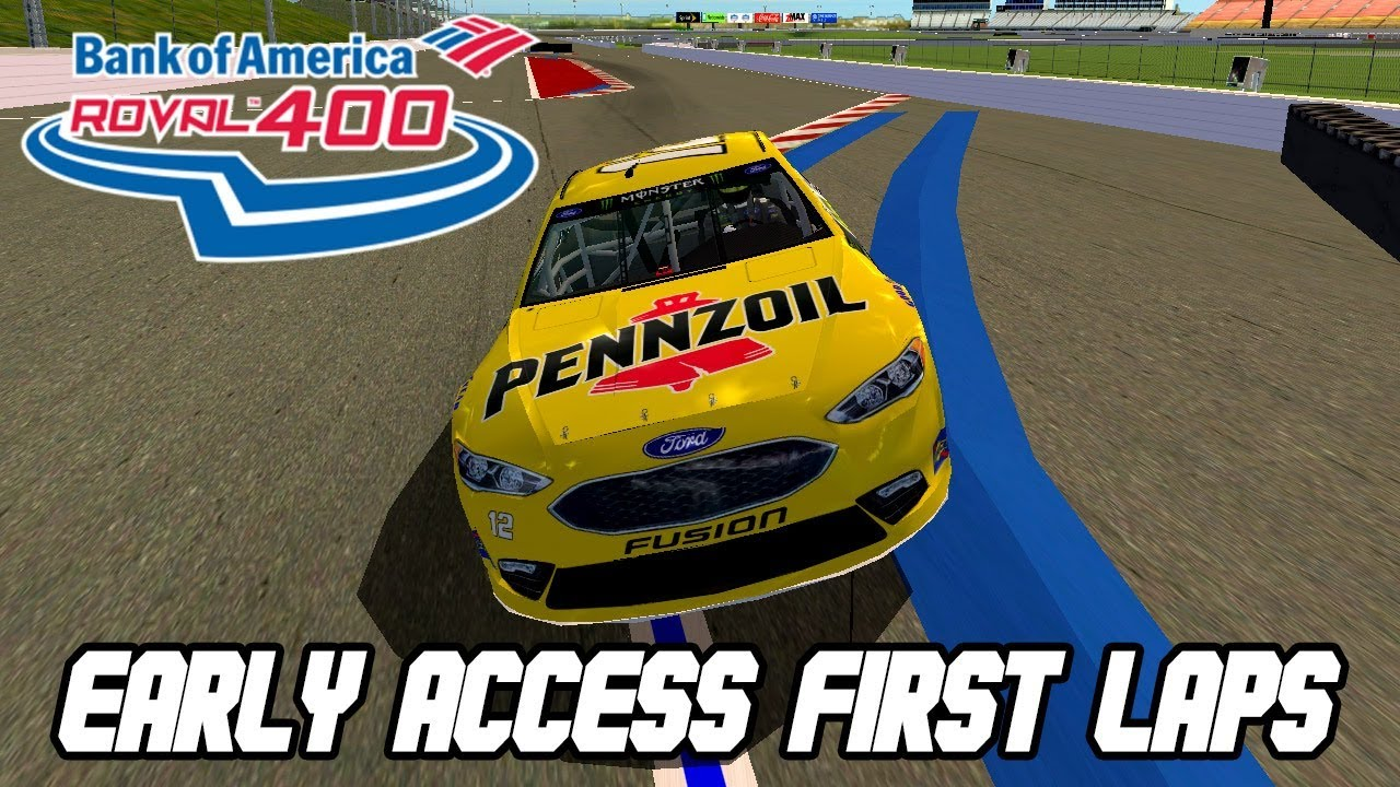 NR2003 - Roval Early Access My First Laps (MENCS 18 Mod)