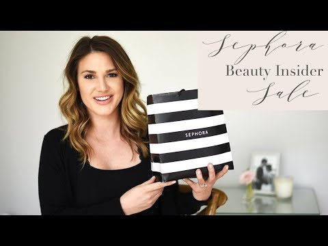 SEPHORA VIB SALE HAUL, HOW TO SHOP THE SALE AND MY FAVORITE PRODUCTS TO BUY!