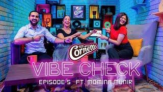 Cornetto Vibe Check with Momina Munir!