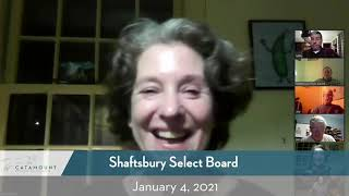 Shaftsbury Select Board // 01/04/21