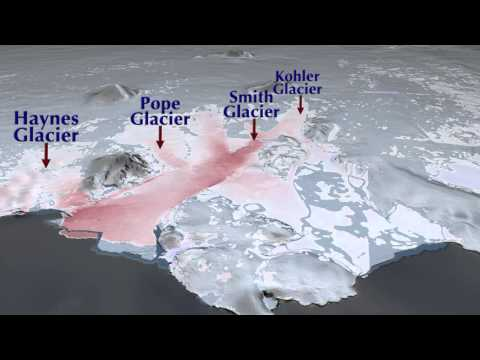 Animation - Loss of West Antarctic Glaciers Appears Unstoppable