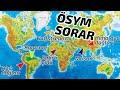 Dünya Üzerindeki Önemli Yerleri Tanıyalım / Harita - YGS LYS COĞRAFYA