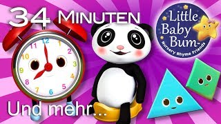 ABC und Zahlen lernen für Kinder   Alphabet lernen   Kinderlieder   LittleBabyBum