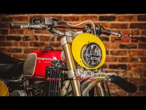 New 2018 Husqvarna SM 610 Scrambler   Husqvarna SM610 Custom by Hageman Motorcycles