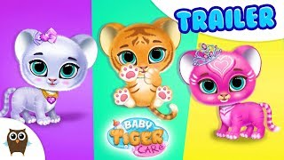 Baby Tiger Care - The Cutest Virtual Cat Girl | TutoTOONS Cartoons & Games for Kids