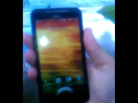 HTC EVO 4G LTE Drop Test (In Rain)