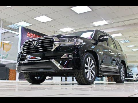 Toyota Land Cruiser VX200 2017 Executive Black CHICAGO MOTORS MOSCOW