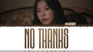 Download Mp3 WHEEIN NO THANKS Lyrics