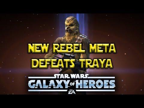 Legendary Chewbacca Defeats Traya - Meta Changing - Star Wars: Galaxy Of Heroes - SWGOH