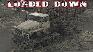 Spintires Mud Runner Logging + Lost A Track