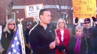 ex secret service agent dan bongino guns across america rally in annapolis md 2nd amendment