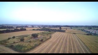 Yuneec Q500 4K Drone test with real sound (4K)