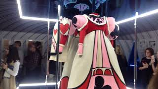 Alice in Wonderland Exhibition in ACMI, Melbourne. Featuring concep...