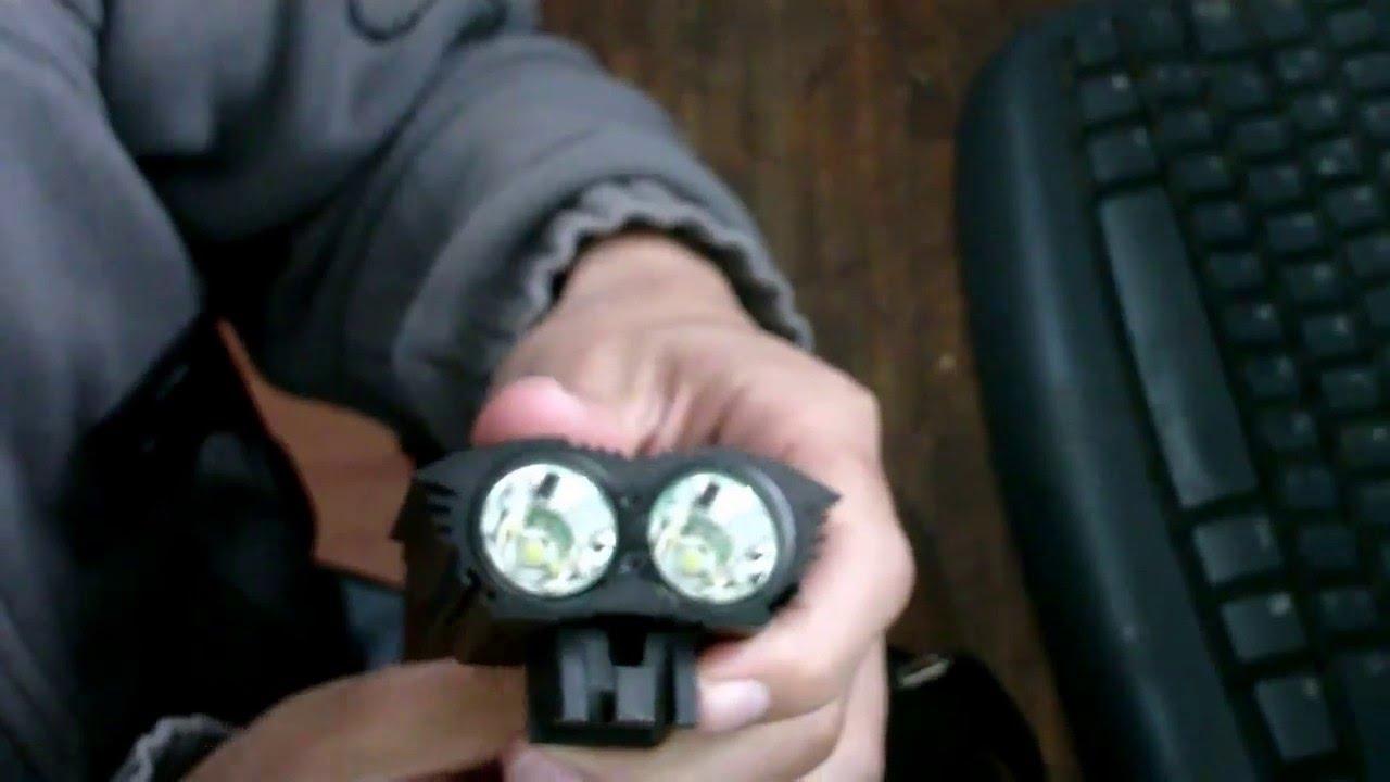 76562311f Desempaquetado Luces led para bicicleta 5000 Lumenes - Chinas - YouTube