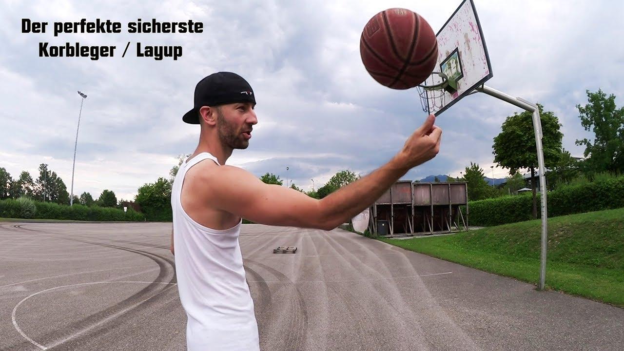 Der sicherste Korbleger / Layup beim Basketball – Treibe Sport