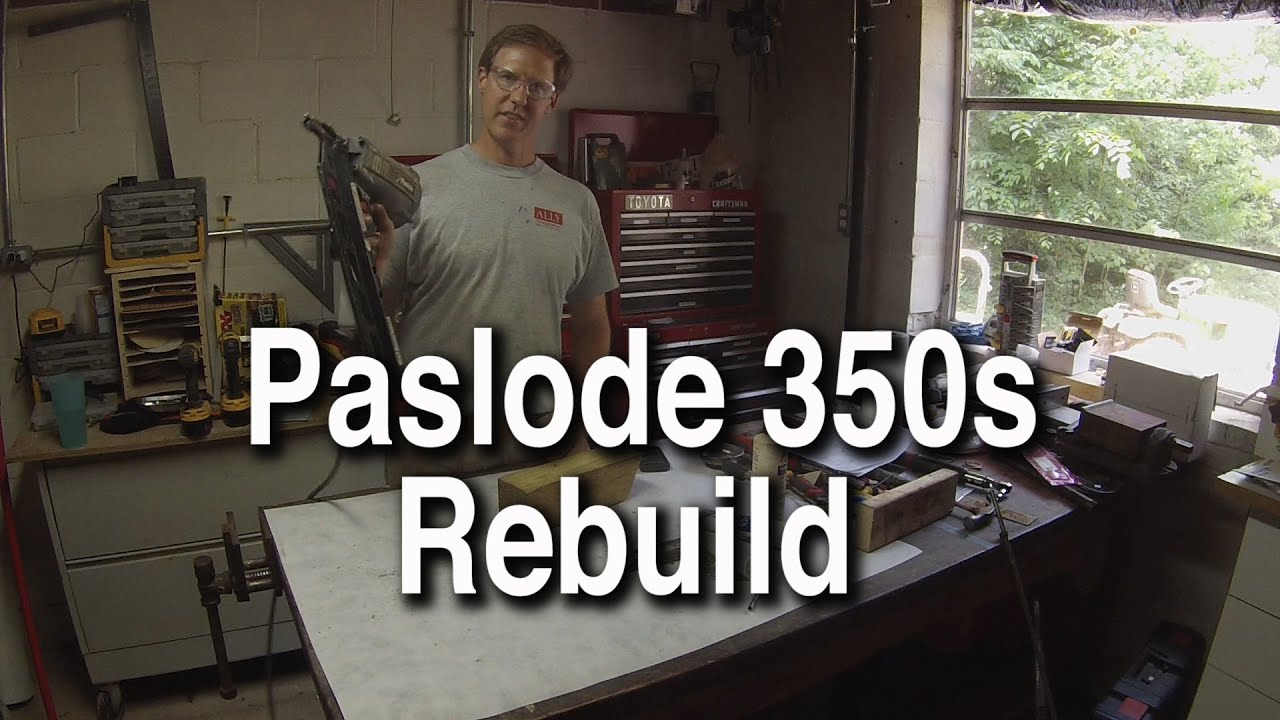 Paslode F350s Powermaster Plus 30 Framing Nailer Rebuild