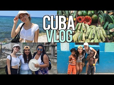 Cuba Vlog pt1: Exploring Havana & They All Want Our MONEY