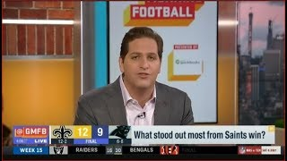New Orleans Saints defeat Carolina Panthers (12-9) | Good Morning Football