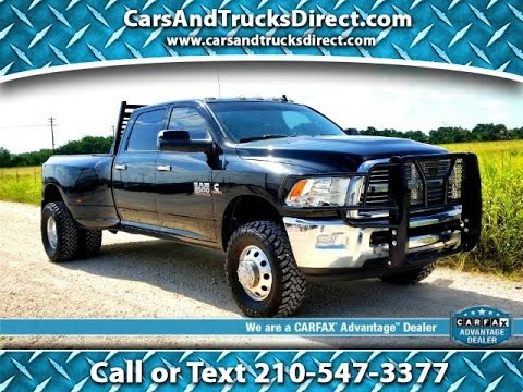 Lone Star Dodge >> 2013 (Dodge) Ram 3500 Dually Lone Star Cummins Review ...