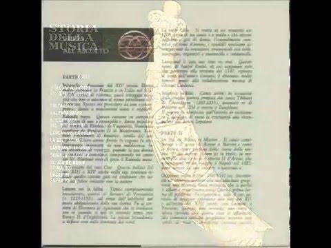 01.03 - Storia della Musica - Fabbri Ed. - 1964 - Trovatori e Trovieri