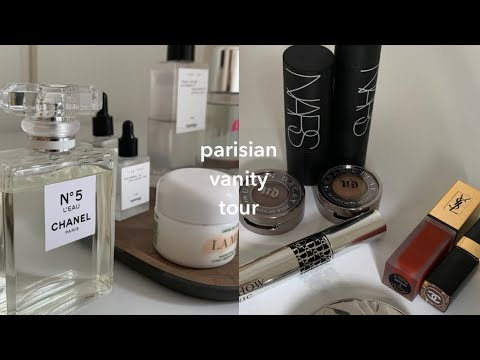 (eng) What's on my vanity | Parisian vanity tour