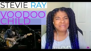 WHAT IS THIS? Stevie Ray Vaughan - VooDoo Child REACTION!!!