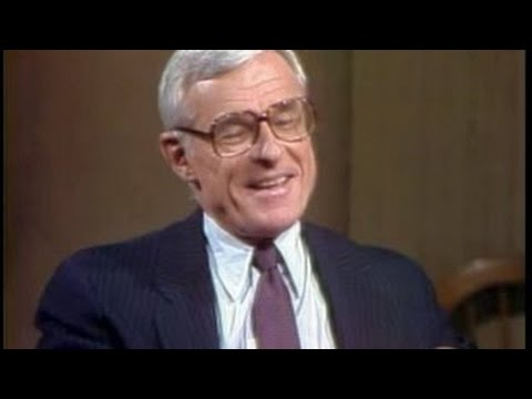 Grant Tinker on Late Night, November 23, 1982 -competition realty shows