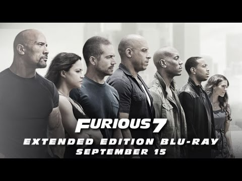 Furious 7 Extended Edition - On Blu-ray September 15, 2015