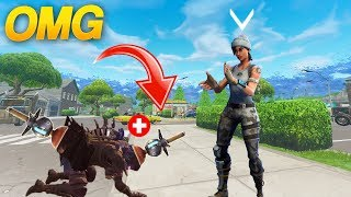 BEST KILL WITH CLINGER GRENADE *FORTNITE BEST MOMENT FUNNY AND TROLL*