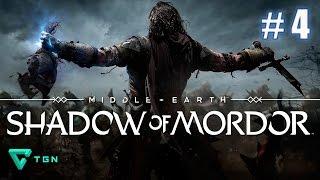Shadow of Mordor - Gameplay Español - Capitulo 4 - HD 720p