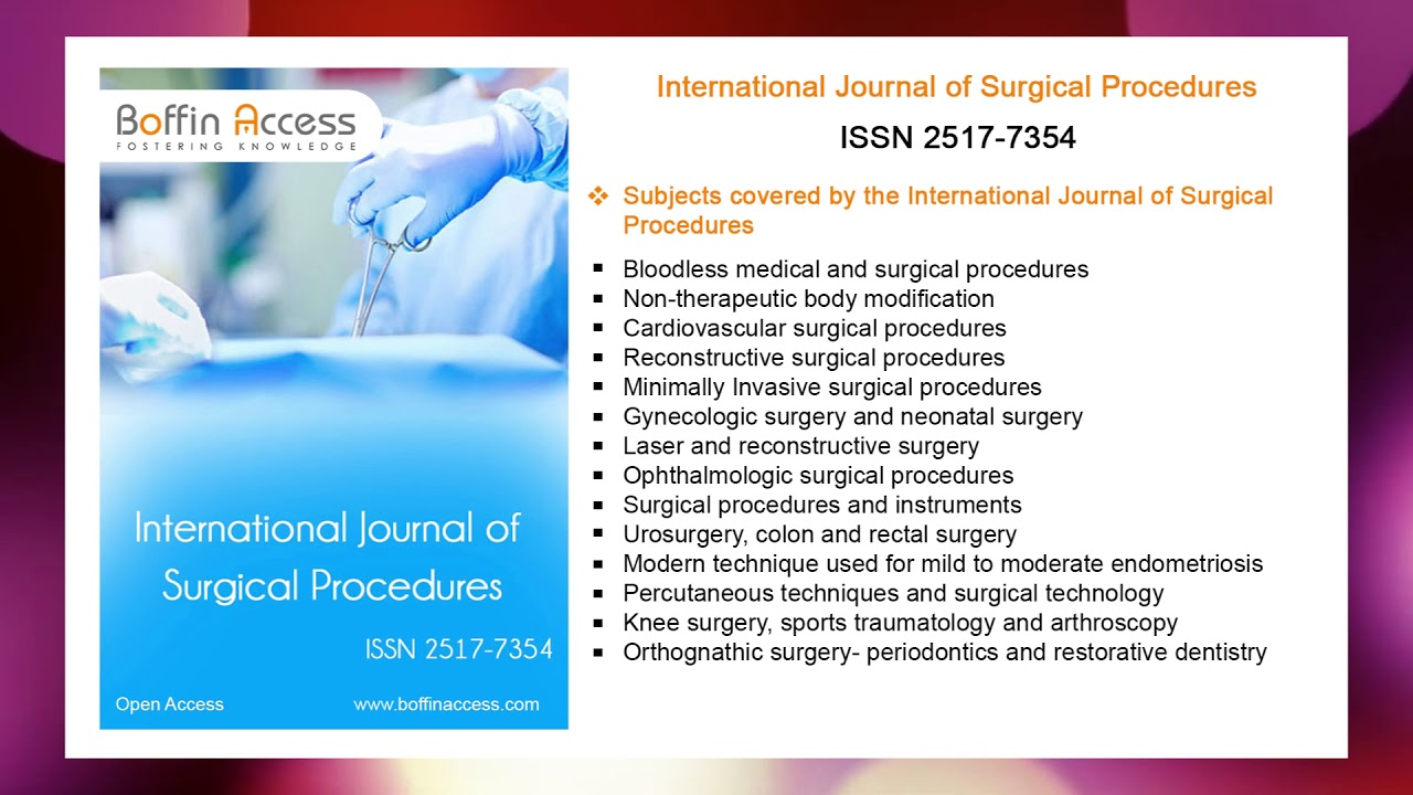 International Journal of Surgical Procedures