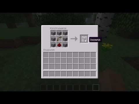 minecraft how to use a dispenser