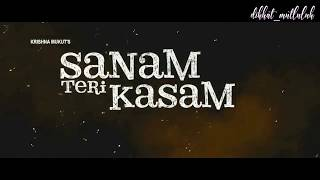 SANAM TERI KASAM TRAILER | KARA SEVDA | NIHAN VE KEMAL | SARU & INDER