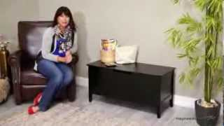 Richland Storage Bench - Black - Product Review Video