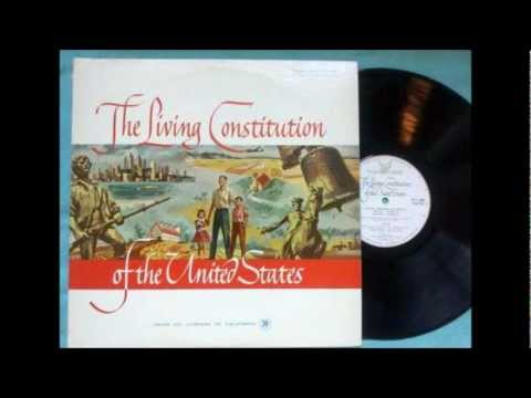 The Living Constitution of The United States (1961 LP -- Ful
