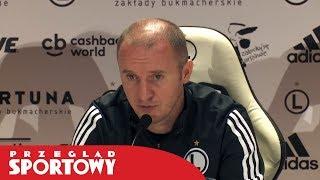 Aleksandar Vuković po meczu Legia - Rangers 0:0