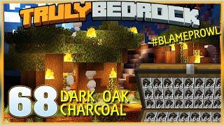 Truly Bedrock S1E68 Dark Oak Charcoal! | Minecraft Bedrock Edition SMP, MCPE, MCBE