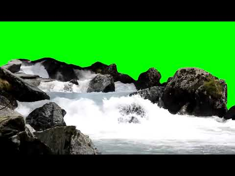 Waterfall 1 Green Screen HD 1080p Video Backgrounds Video Dailymotion