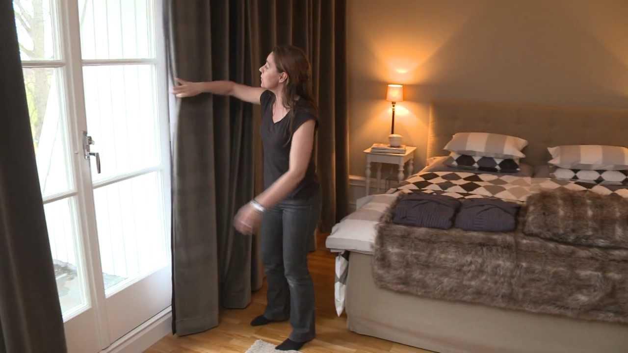 Små tips för enkla förändringar   gardiner till sovrummet   youtube