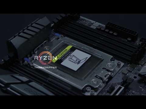 ASRock AMD Threadripper X399 Professional Gaming TR4 ATX Motherboard