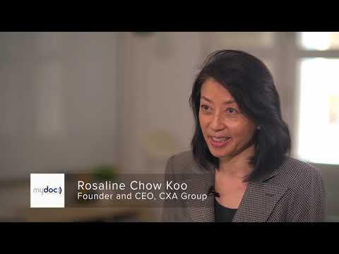 MyDoc Stories: Rosaline Chow Koo, CEO and founder, CXA Group ...