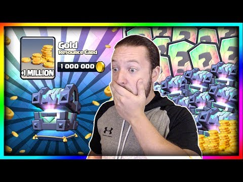 1 MILLION GOLD!! MOST INSANE CHEST OPENING...