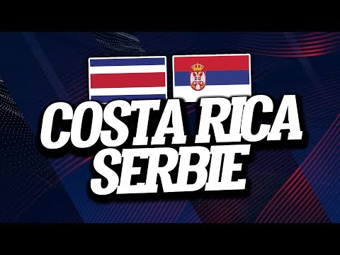 COSTA RICA - SERBIE (0-1) // Live Reaction & Commentaire - ClubHouse