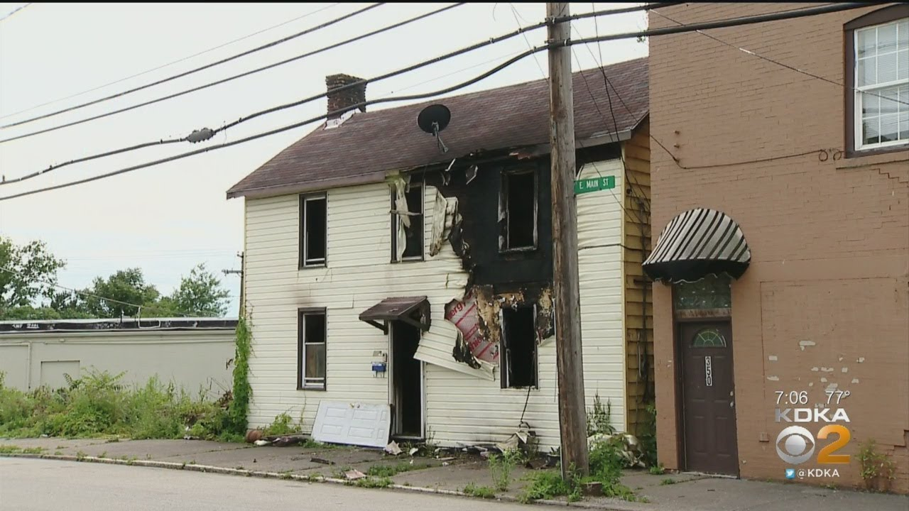 Pittsburg, Pa-White Man Sets House and Vehicle on Fire