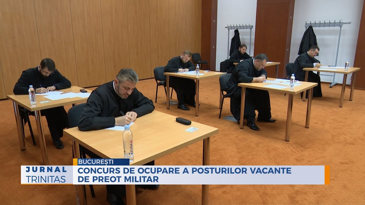 Concurs de ocupare a posturilor vacante de preot militar