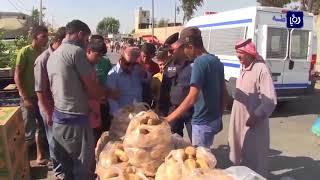 بلدية اربد تخصص فريق رقابة صحية وغذائية لسوق الجمعة - (4-11-2017)