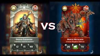 Warhammer Combat Cards: Big Game Hunters vs BIG GAME