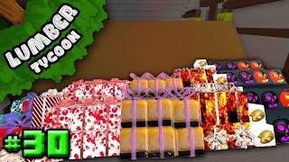 Lumber Tycoon Ep. 30: INSANE Gift Storage! | Roblox