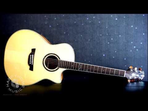 รีวิวกีต้าร์โปร่งไฟฟ้า CRAFTER-GAE-650TM+DX ( By Happyhome Music )